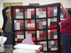 Finished a quilt top!