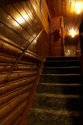 Stairway to 3rd floor.
